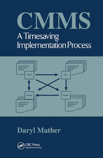 CMMS A Timesaving Implementation Process book cover