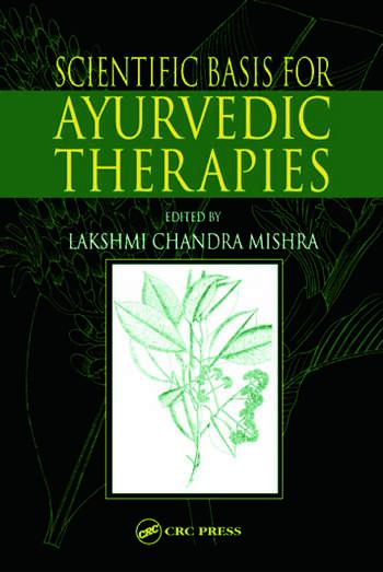 Scientific Basis for Ayurvedic Therapies book cover