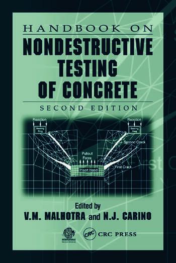 Handbook on Nondestructive Testing of Concrete book cover