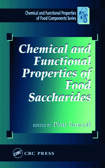 Chemical and Functional Properties of Food Saccharides book cover