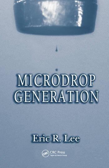 Microdrop Generation book cover