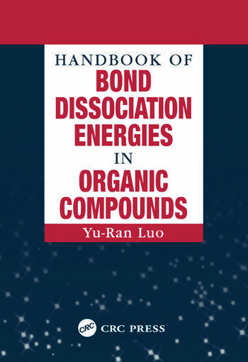 Handbook of Bond Dissociation Energies in Organic Compounds book cover