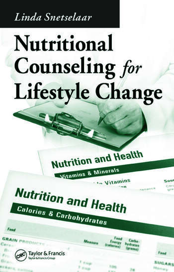 Nutritional Counseling for Lifestyle Change book cover