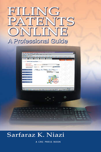 Filing Patents Online A Professional Guide book cover