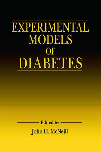 Experimental Models of Diabetes book cover