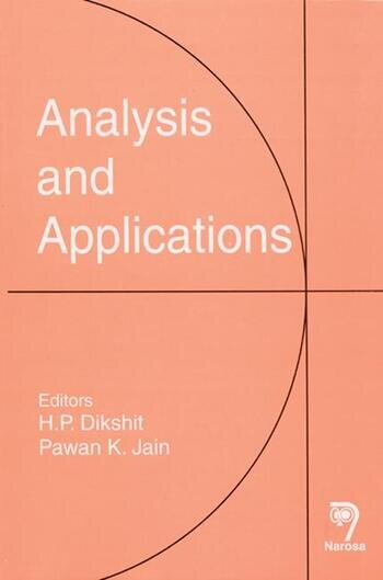 Analysis and Applications book cover