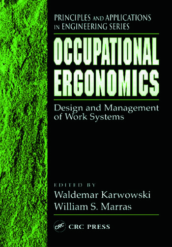 Occupational Ergonomics Design and Management of Work Systems book cover