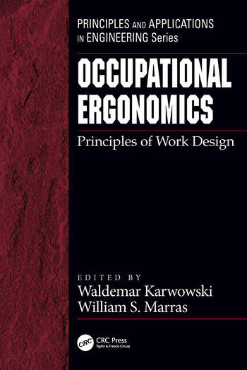 Book Cover Design Principles ~ Occupational ergonomics principles of work design crc