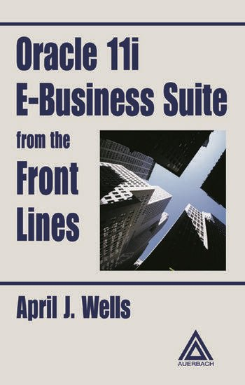 Oracle 11i E-Business Suite from the Front Lines book cover