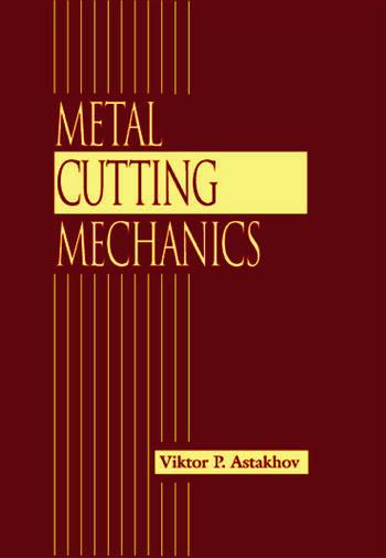 Metal Cutting Mechanics book cover