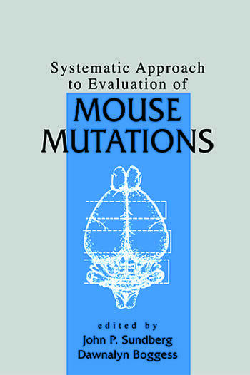 Systematic Approach to Evaluation of Mouse Mutations book cover