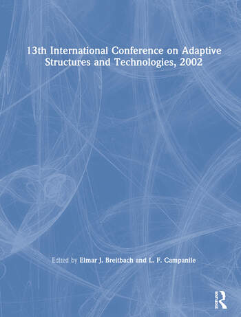 13th International Conference on Adaptive Structures and Technologies, 2002 book cover