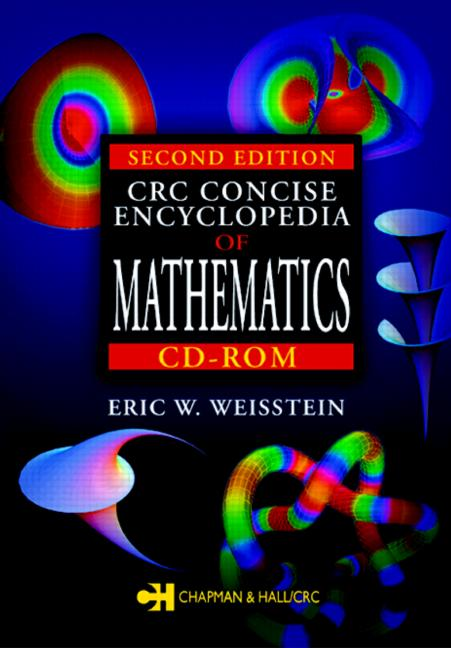 CRC Concise Encyclopedia of Mathematics book cover