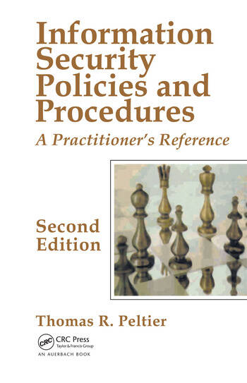 Information Security Policies and Procedures A Practitioner's Reference, Second Edition book cover