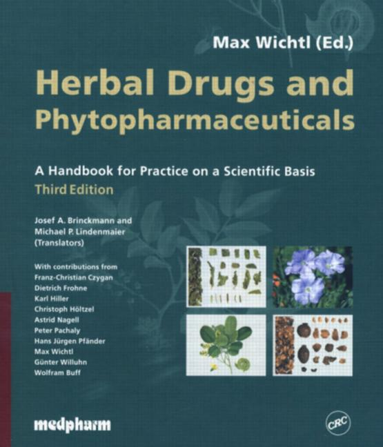 Herbal Drugs and Phytopharmaceuticals, Third Edition book cover