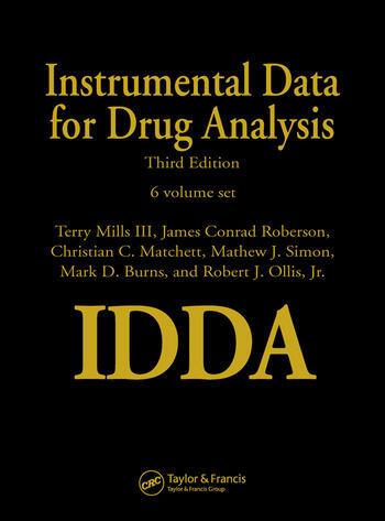 Instrumental Data for Drug Analysis - 6 Volume Set book cover