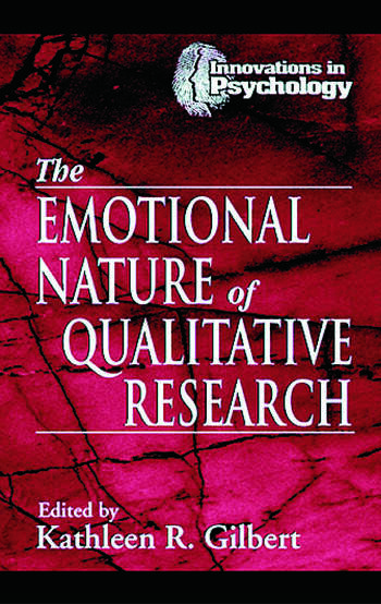 The Emotional Nature of Qualitative Research book cover