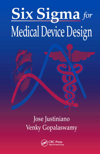 Six Sigma for Medical Device Design book cover
