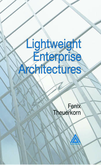Lightweight Enterprise Architectures book cover