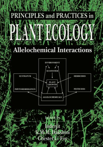 Principles and Practices in Plant Ecology: Allelochemical ...
