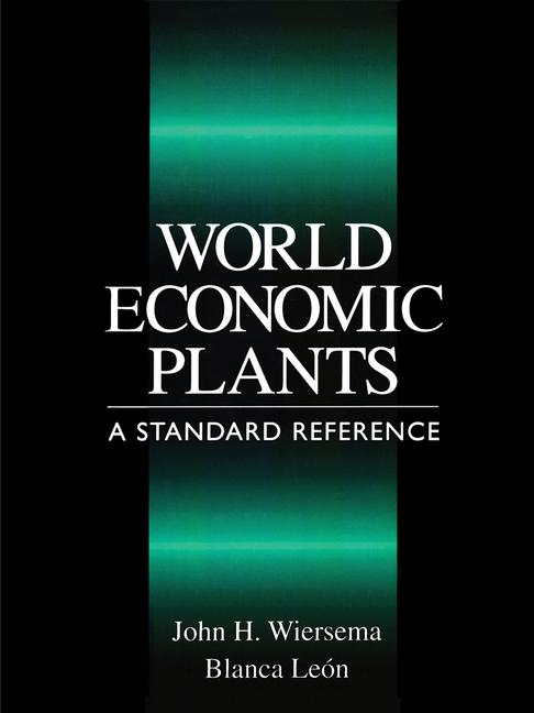 World Economic Plants A Standard Reference book cover