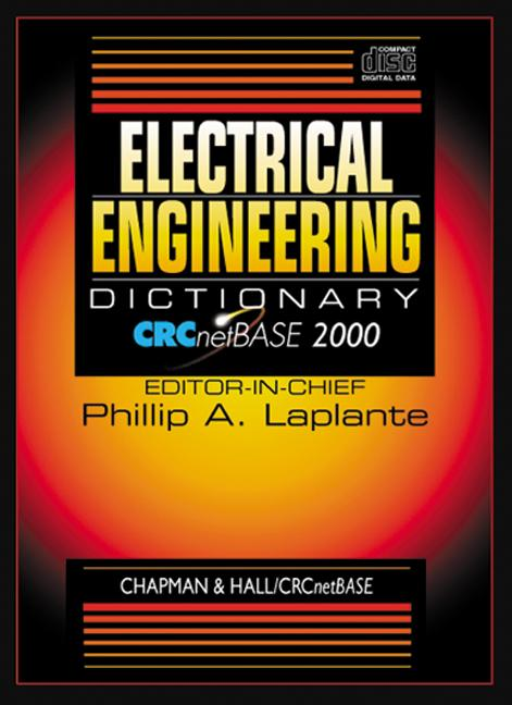 Electrical Engineering Dictionary on CD-ROM book cover
