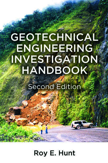 Geotechnical Engineering Investigation Handbook book cover