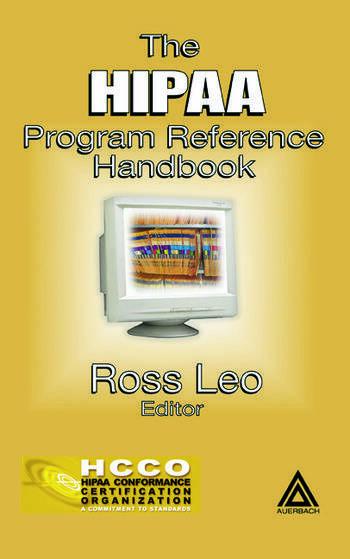 The HIPAA Program Reference Handbook book cover