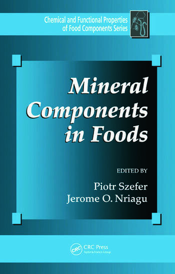 Mineral Components in Foods book cover