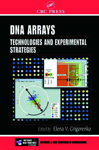 DNA Arrays Technologies and Experimental Strategies book cover