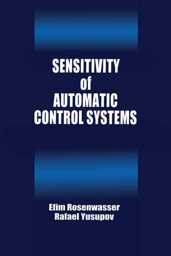 Sensitivity of Automatic Control Systems book cover