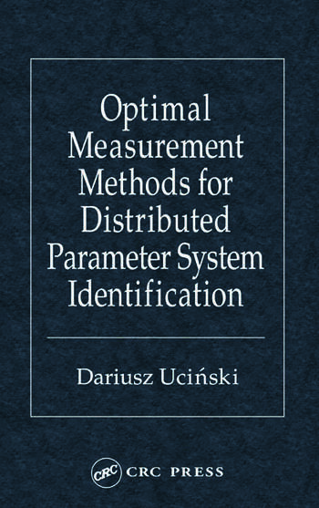 optimal measurement methods for distributed parameter system rh crcpress com JMP Software Maple Programming Language