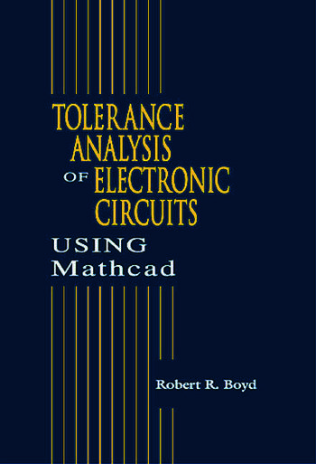 Tolerance Analysis of Electronic Circuits Using MATHCAD book cover