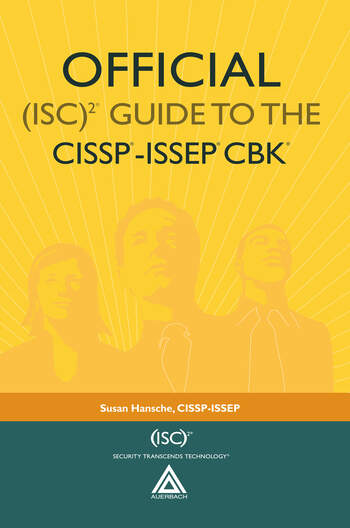 Official (ISC)2® Guide to the CISSP®-ISSEP® CBK® book cover