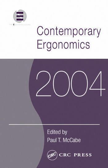 Contemporary Ergonomics 2004 book cover