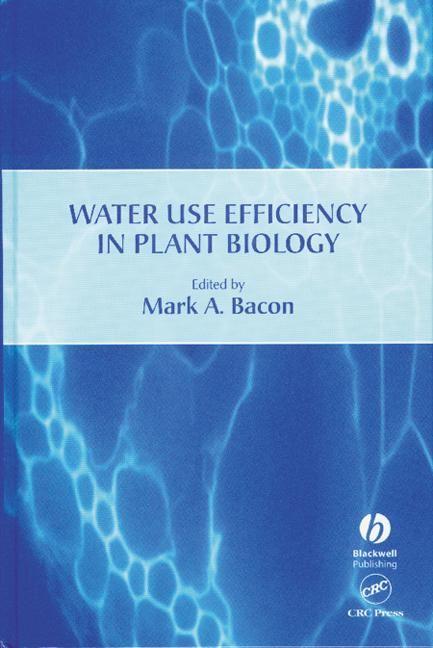 Water Use Efficiency in Plant Biology book cover