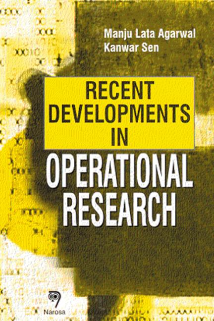 Recent Developments in Operational Research book cover