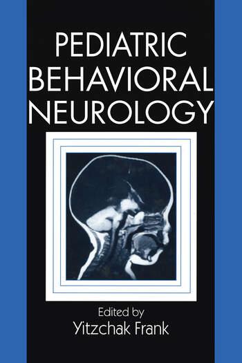 Pediatric Behavioral Neurology book cover