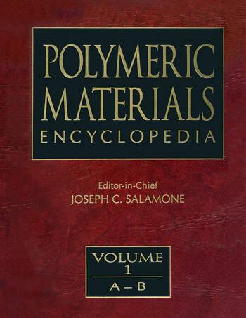 Polymeric Materials Encyclopedia, Twelve Volume Set book cover