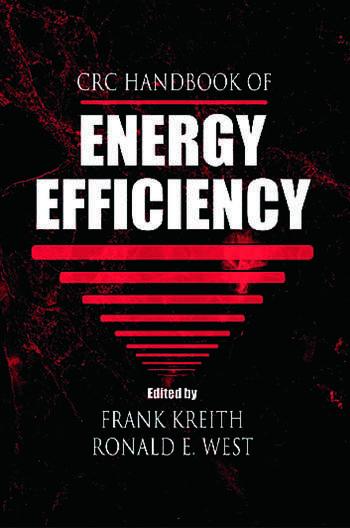 CRC Handbook of Energy Efficiency book cover