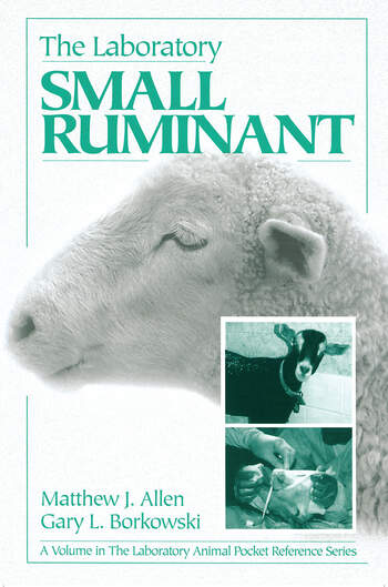 The Laboratory Small Ruminant book cover