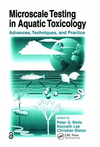 Microscale Testing in Aquatic Toxicology Advances, Techniques, and Practice book cover