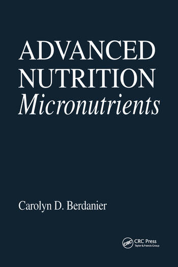 Advanced Nutrition Micronutrients book cover