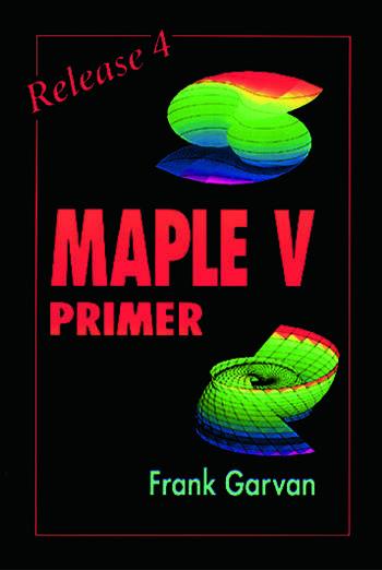 The Maple V Primer, Release 4 book cover