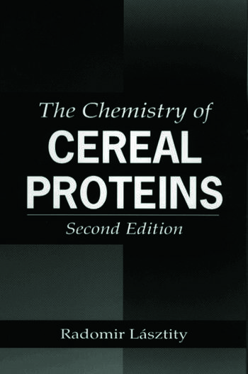 The Chemistry of Cereal Proteins book cover