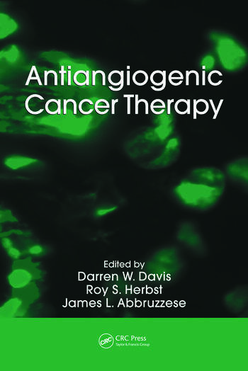 Antiangiogenic Cancer Therapy book cover