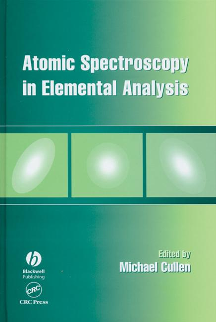 Atomic Spectroscopy in Elemental Analysis book cover