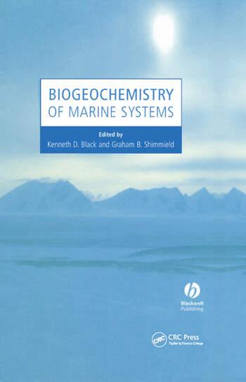 Biogeochemistry of Marine Systems book cover
