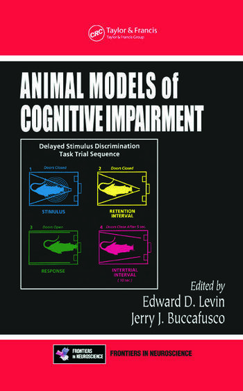 Animal Models of Cognitive Impairment book cover