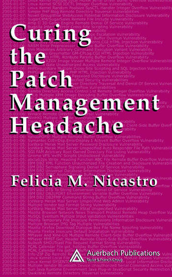 Curing the Patch Management Headache book cover
